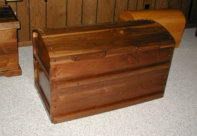 Captains Trunk Cedar Chest Hope Steamer Trunks