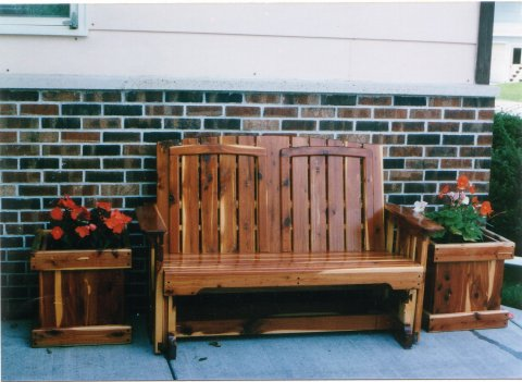 Surprising Glider Planter Boxes And Garden Accents Andrewgaddart Wooden Chair Designs For Living Room Andrewgaddartcom